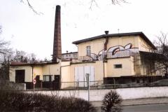 Budynek Obornickiej Mleczarni widok z ulicy Chłopskiej.
