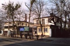 Budynek Obornickiej Mleczarni widok z ulicy Marszałka Piłsudskiego.