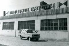 Hala Stacji Obsługi Technicznej w Obornikach przy ulicy Staszica.