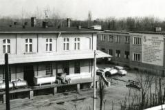 Okręgowa Spółdzielnia Mleczarska w Obornikach - ulica Marszałka Piłsudskiego.
