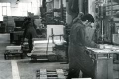 Wielkopolskie Fabryki Mebli w Obornikach - hala produkcyjna.